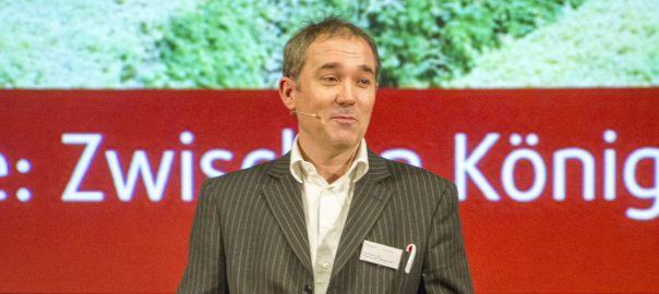 "Foto: Thomas Webers, Business-Coach, auf dem HAM-Coaching-Kongress ""Coaching heute: Zwischen Königsweg und Irrweg"" 2014 in Erding (Foto: Julia Walker)"